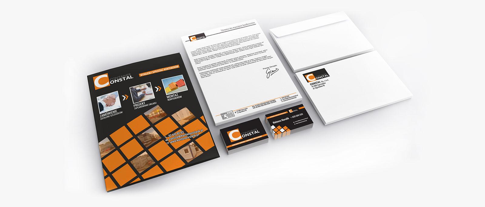 Materiały reklamowe dla firmy Constal