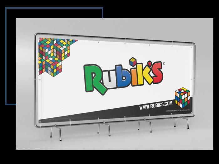 Baner dla firmy Rubiks