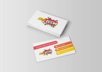 Wizytówki Farboom