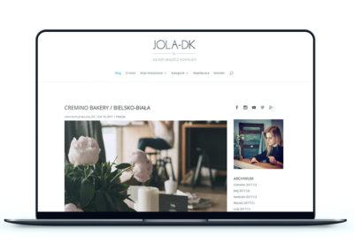 Realizacja - Strona jola-dk.com