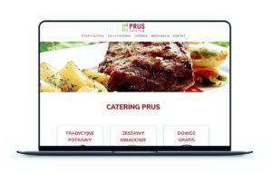 Realizacja - Strona catering-prus.pl