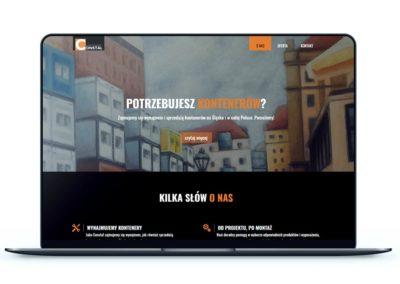 Realizacja - Strona konteneryslask.pl