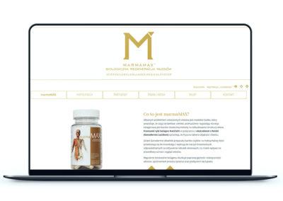 Realizacja - Strona marmamax.pl