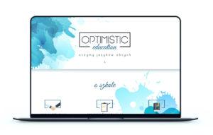 Realizacja - Strona optimisticeducation.pl