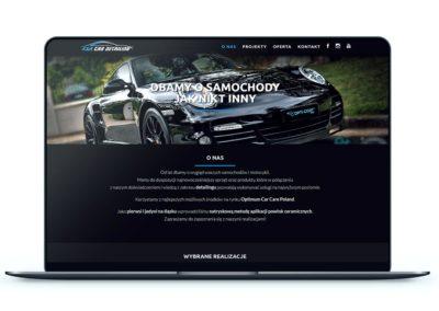 Realizacja - Strona kacardetailing.pl