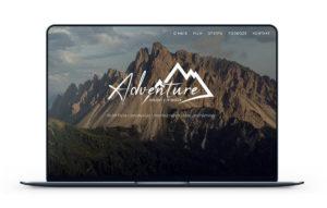 Realizacja - Strona adventure-vm.pl
